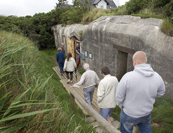 Guidede ture ved Bunkermuseet