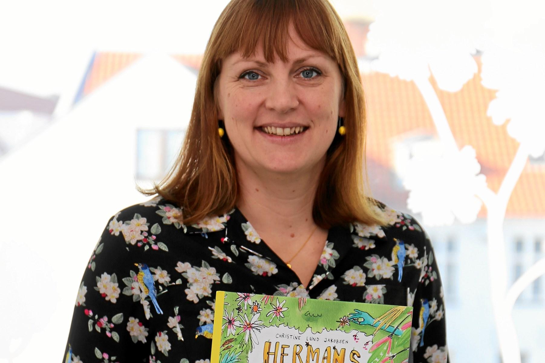 Forfatter udgiver ny børnebog - Hermans Have