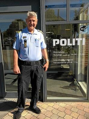 Foredrag om politi  efterforskning i de grove kriminalsager