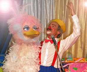 Cirkus-sjov i Ulsted Hallen
