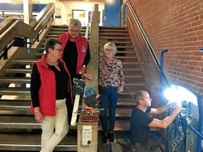 Handicapliften i SKFC er fikset