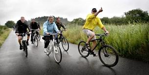 Punktering i Rebild: Kun råd til en halv cykelsti - nu udskydes projektet