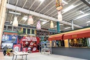 Mad og kunst: Art display popper op på Aalborg Street Food