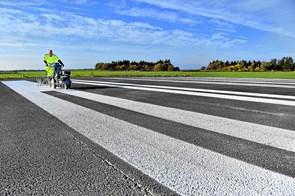 Nye streger på landingsbanen