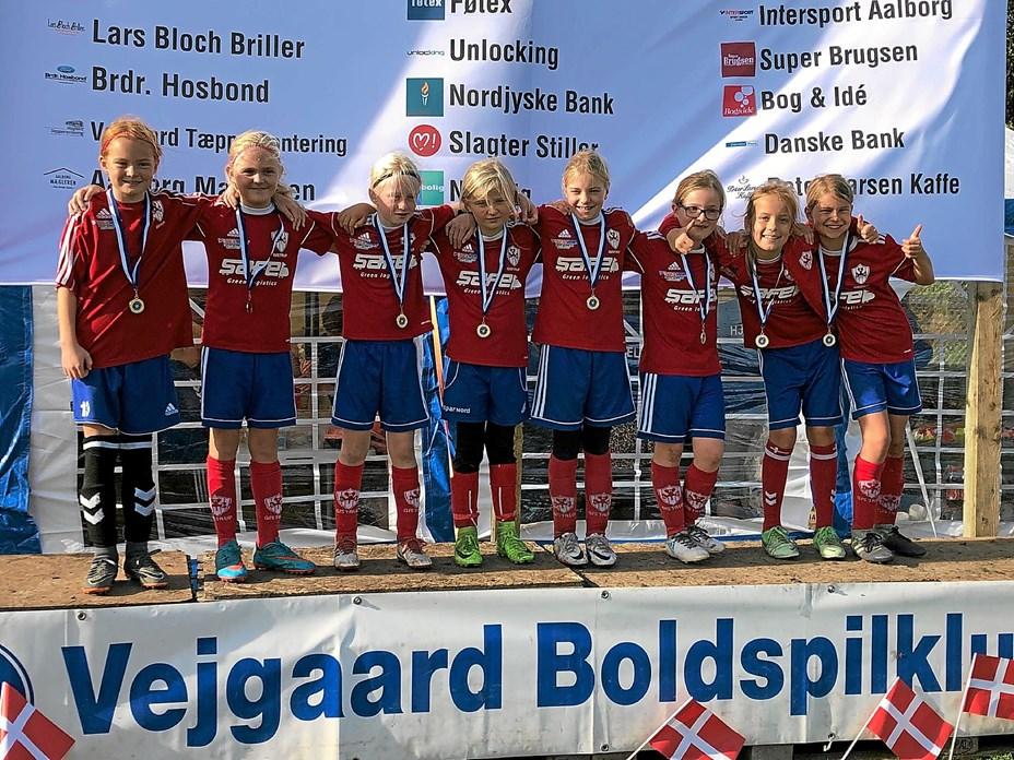 Stærke U10 Piger vandt Efterårscup
