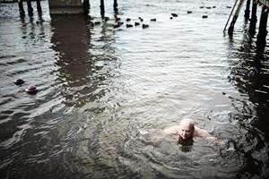 Vinterbadning giver velvære, og måske slanker det også. Overvægtige indgår i nyt forsøg.