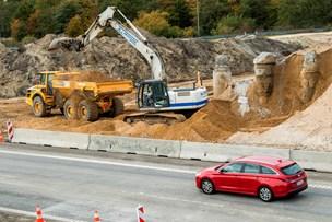 Derfor bankes der stadig løs på motorvejsbro