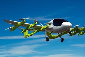 Elektriske lufttaxaer skal øge sikkerhed og også mindske forurening. De kan lette uden brug af startbane.