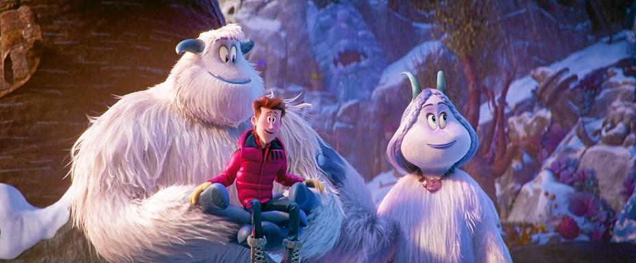Bigfoot møder Smallfoot og Damerne drikker te i biografen