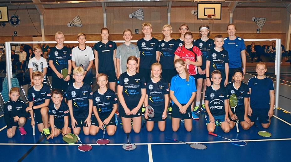 Badmintonstjerner kastede stjernedrys over Hadsund