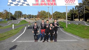 Fire medaljer til Thy BMX