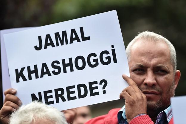 Medie: Tyrkiet har fundet beviser for journalistdrab på konsulat