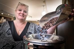 Tak for kaffe: Kaffebørsen fik hjælp af bønnenørd