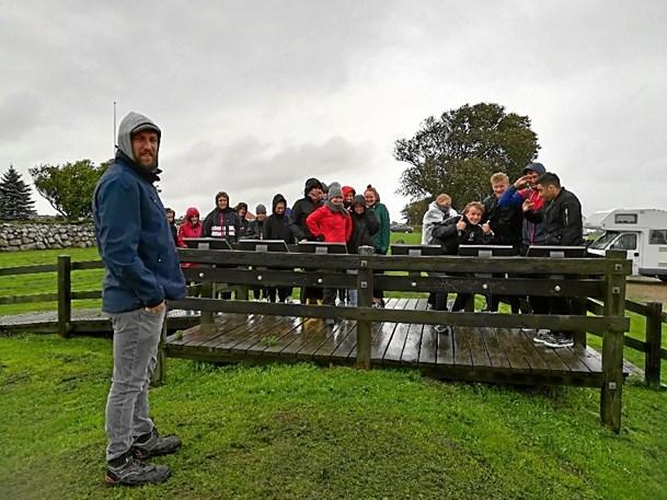 Unge på sporet af Aggersborgs gåde