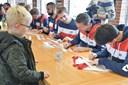 Se billederne: AaB trænede i Brønderslev - køen til autografer var lang