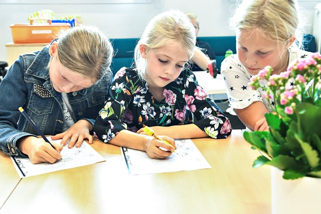 Skoleklasse i Brønderslev med kun fem børn: Her er vores løsning