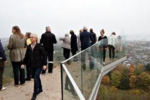 Populær udsigt i efterårsferien