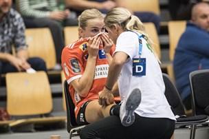 Knæskadet Stine Jørgensen misser håndbold-EM