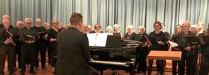 Vellykket kor-stævne på Mariagerfjord Gymnasium