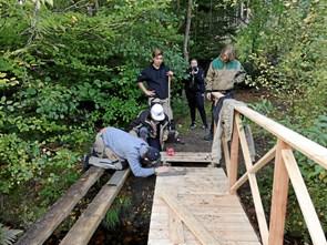 Elever byggede bro i Tornby