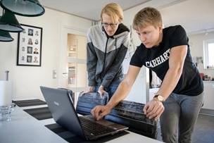 Tobias og Frederik reddet fra stenskred i Norge: - Vi gik i panik