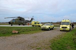 Bil rullede rundt på Læsø: En kommet alvorligt til skade