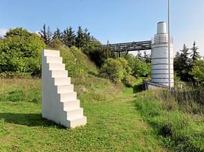 Ny skulptur bliver vist frem i Klim