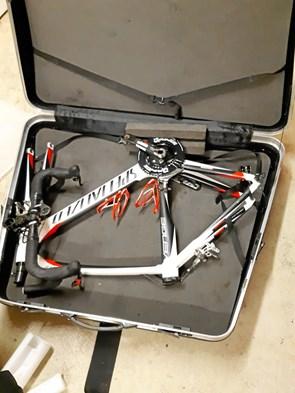 Cyklen er pumpet og pakket