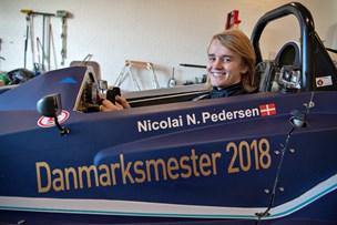 17-årig dansk racer-mester: Nicolai fra Brønderslev er den bedste