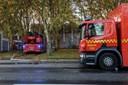 Voldsom brand i hærget bygning: Formentlig påsat