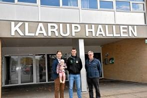 Udbygning af Klarup Hallen