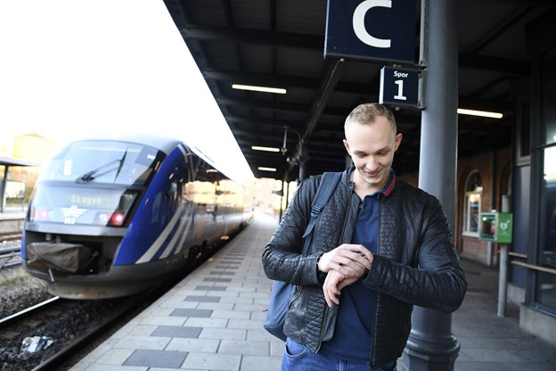 Så' der tog: Regionaltog tilbage på skinner efter - endnu et - togstop