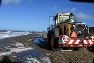 Kvinde dræbt af gummiged på stranden i Gl. Skagen