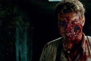 """I horrorfilmen """"Overlord"""" spiller Pilou Asbæk en fremtrædende rolle som en skurk, der bliver til en zombie."""