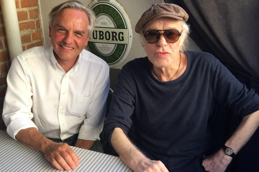 Jens Andersen håber, at hans biografi om Kim Larsen vil nuancere billedet af den berømte spillemand.