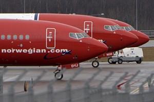 Det økonomisk pressede Norwegian øgede antallet af passagerer betydeligt i 2018, men stadig mange tomme sæder.