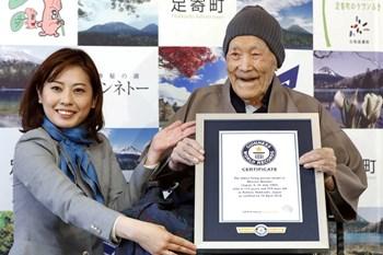 113-årige Masazo Nonaka fra Japan var den ældste mand i verden, før han søndag gik bort.