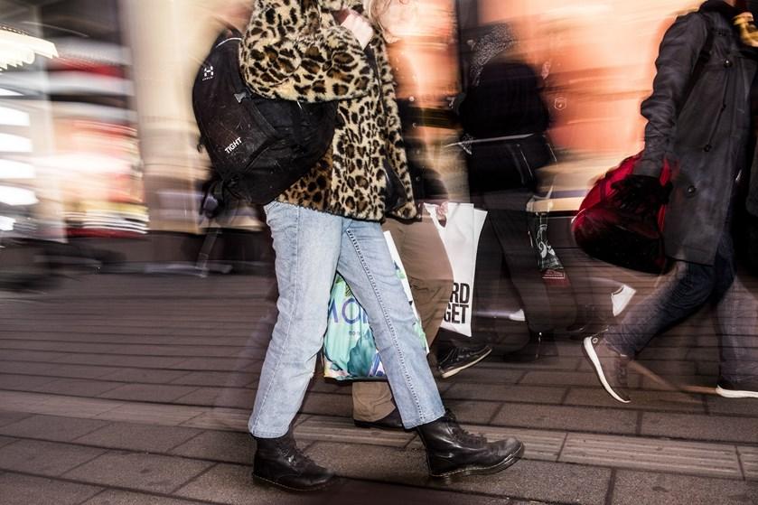 Danske forbrugere tvivler på yderligere fremgang i økonomien og vil ikke bruge penge på store forbrugsgoder.