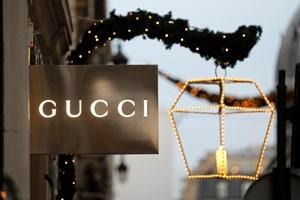 Kinesisk efterspørgsel efter Gucci betyder overraskende gode salgstal for modemærket.
