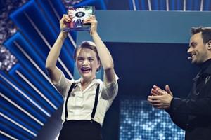 Vindersangen til Dansk Melodi Grand Prix blander fire forskellige sprog og er et bud på en moderne vise.