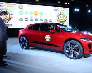 Elbilen Jaguar I-Pace er blevet kåret som årets bil i Europa 2019 ved det internationale motorshow i Genève.