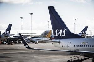 SAS' passagervækst stod stille i februar, og flyene var samtidig lidt mindre fyldte end tidligere.