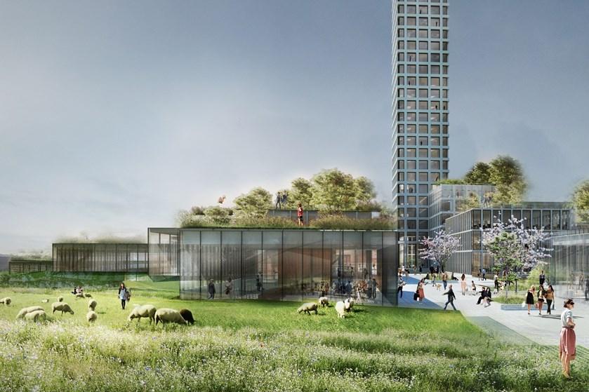 Bestseller har fået grønt lys til at bygge 320 meter højt højhus i Brande, der bliver Danmarks højeste.