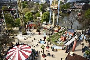 Tivoli havde 4,85 millioner besøgende i 2018. Satsning på at have åbent hele året fortsætter.