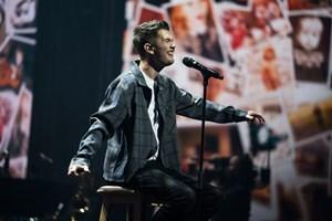 """18-årige Patrick Smith måtte fredag aften opgive drømmen om at vinde """"X Factor""""."""