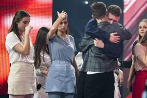 """For anden uge i træk røg gruppen Echo fredag aften i farezonen i """"X Factor"""", og det påvirker de fire piger."""