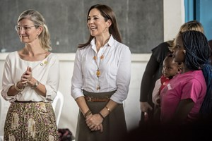 Det er den positive udvikling i Etiopien, som Ulla Tørnæs (V) og kronprinsesse Mary skal følge under besøget.
