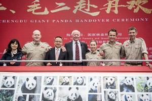 Direktør Bengt Holst håber, at pandaerne opfører sig, som pandaer skal. Publikum skal have en wauw-oplevelse.