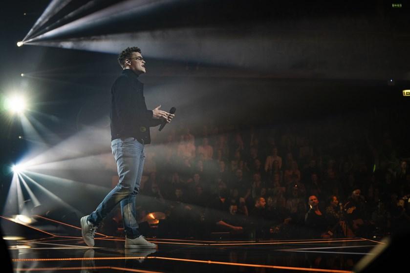 """Benjamin Rosenbohm var favorit til at vinde """"X Factor"""", men måtte nøjes med en andenplads."""