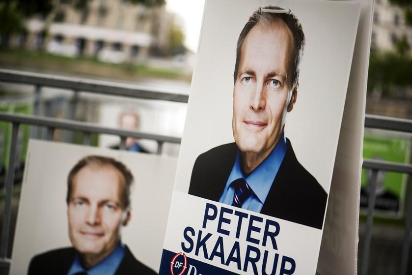 Dansk Folkeparti står skidt i meningsmålingerne, men ifølge gruppeformand Peter Skaarup er det forventeligt.